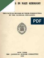 Jews in Nazi Germany 1933