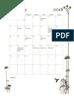 gifford february calendar