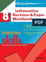 EES MathematicsRevision Exam Workbook Year 8