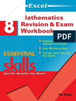 EES MathematicsRevision Exam Workbook Year 8