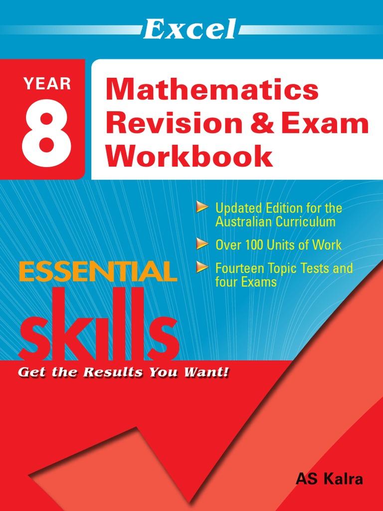 EES MathematicsRevision Exam Workbook Year 8 | Percentage | Test ...