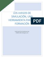 ZAMORA-La Simulacion Como Herramienta de Formacion