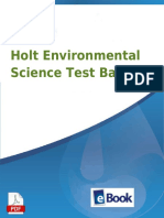 Pdfsecret.com PDF Holt Environmental Science Test Bank Mybookdircom