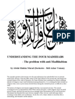 Understanding the Four Madhhabs