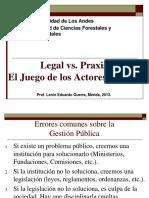 Clase Actores y Conflicto