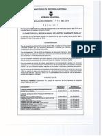 Resolucion 136 de 2016 - Derechos Pecunarios Escuela Naval Almirante Padilla