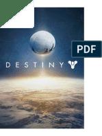 Destiny - Logros