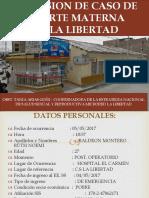 DISCUSION DE CASO DE MUERTE MATERNA..pptx