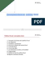 Conceptos Clave Politica Fiscal