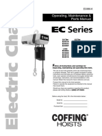 Coffing EC1 Manual