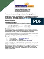 Nurragingy General Conditions 2-9-14