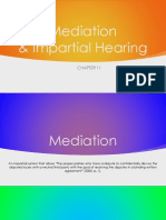 mediation and impartial due process hearing