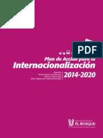 Plan Accion Internacionalizacion