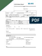 Call Report Format