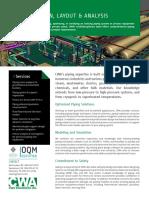 CWA Piping Design, Layout & Analysis