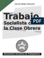 Trabajo Socialista Con La Clase Obrera