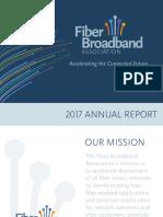 Fiber Broadband Association 2017 Annual Report