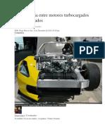 La Diferencia Entre Motores Turbocargados y Supercargados