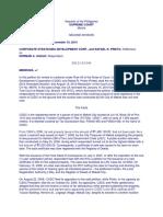 39. Corp. Strategies Devt Corp vs Prieto