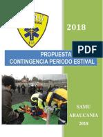 Propuesta de Plan de Contingencia Periodo Estival 2018 05-01-18 Villarrica