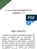 PPT Proyecto Investigación 2