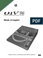 Yamaha 01V96 mode d'emploi