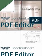 185289711 Planejamento Social Intencionalidade e Instrumentacao OCR