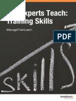 The Experts Teach Training Skills