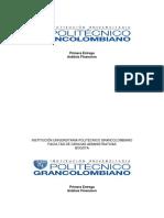 Primera Entrega Analisis Financiero