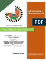 Instrumentos opticos investigación