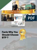 BTP Official Fact Sheet