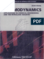 Thermodynamics Applications in Chemical Engineerings and the Petroleum Industry , Jean Vidal, Tec - Copy