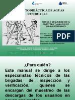 5.2.8 Riesgo y Seguridad en El Muestreo y Análisis de Aguas Residuales