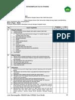 checklist Vulva Hygiene