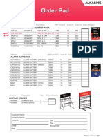 OP Fujitsu Batteries 1007