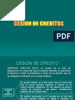 19. Cesion de Credito