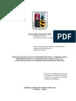EXPLORACIÓN DE UNA RUTA DE HEMISÍNTESIS PARA LA PREPARACIÓN Y DETERMINACIÓN DE LA CONFIGURACIÓN ABSOLUTA DE (±)-3α-FENILACETOXY-6ß-(E)-(3,4,5-TRIMETOXICINAMOILOXY)TROPANO