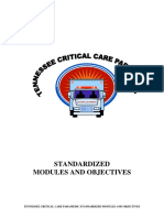 EMS CriticalCareStandardizedModules