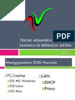 Teknik Memanfaatkan DNS Nawala