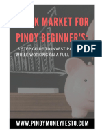 Stock Market for Pinoy Beginners