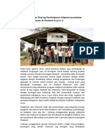 Pengalaman Dan Sharing Pembelajaran Adaptasi Perubahan Iklim Bagian 1
