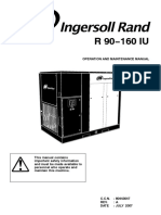 Ingersol Rand R 90-160 IU Operating Manual