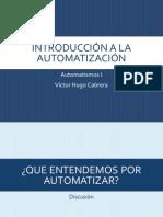 Introducción Automatismos