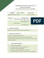 Guía de Práctica 1