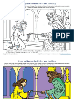 Esther and the King Color by Number
