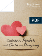 Catatan Pendek untuk Cinta yang Panjang karya Boy Candra.pdf