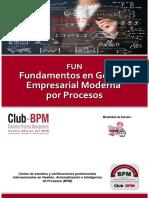 Curso de Fundamentos en Gestion Empresarial Moderna Por Procesos - Club-BPM