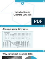Data Camp - Cleaning Data