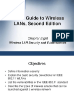CWNA Guide to Wireless LANs Second Edition Chapter 8