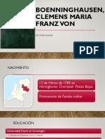 Biografia de Bonninghausen